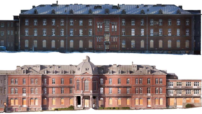 Premiers travaux de photogrammétrie par drone