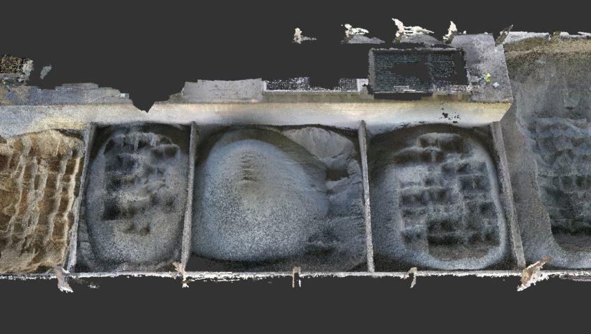 Cubature de stocks intérieurs par drone